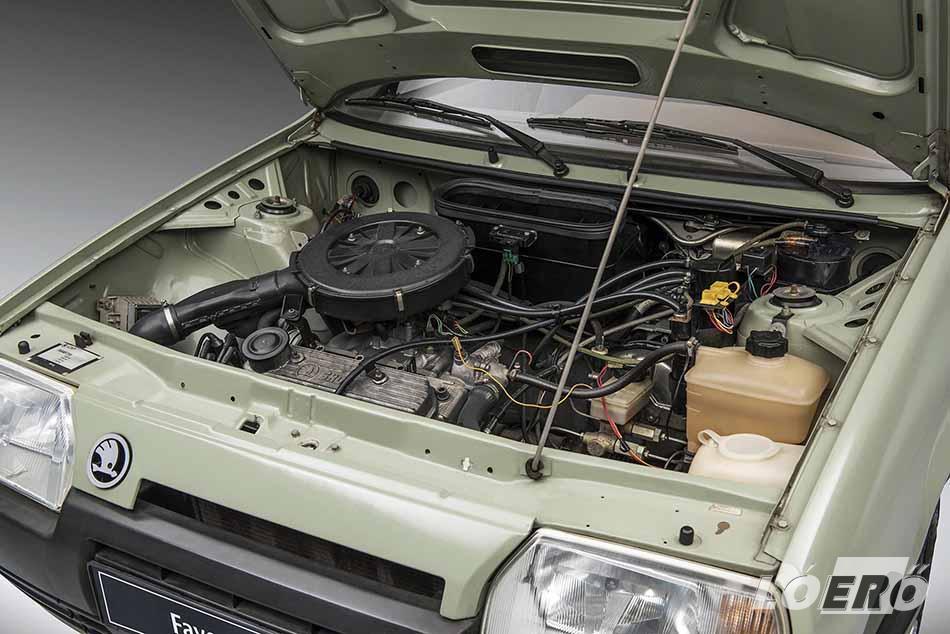 Ma már furcsán hat fejlett technikának nevezni a Skoda Favorit motorját, de mégis korszakának egyik legsikeresebbje volt.