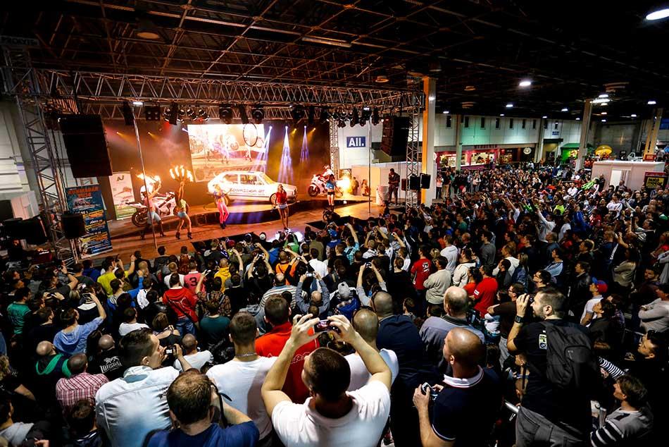 Idén is több tízezer látogatót fogad a Tuning Show.