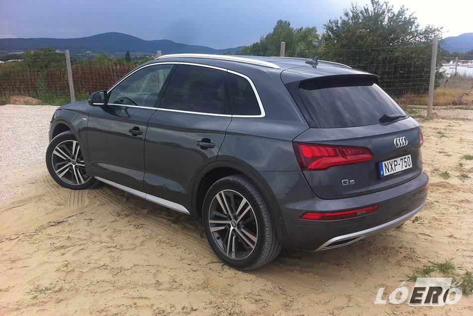 Egy pillanat műve volt az Audi Q5 teszt alatt nálunk járt modellbe beleszerelmesedni.