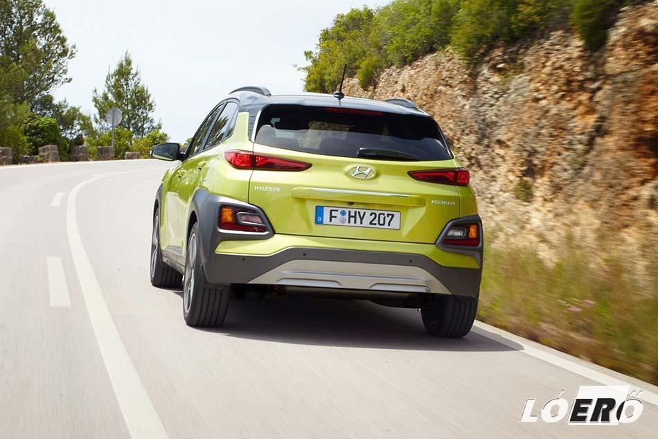 Formás kis hátsórészt kapott a Hyundai Kona, mely jelenleg háromféle motorváltozattal van jelen a hazai piacon.