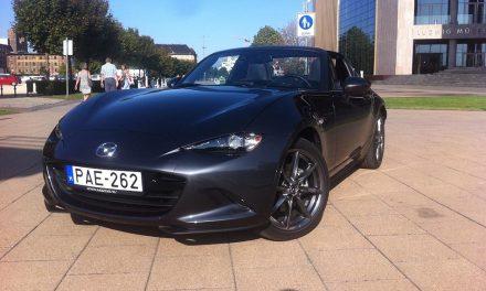 Mazda MX-5 RF teszt – Szélvédett kabriózás