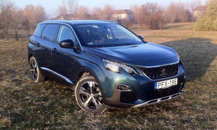 Már nagycsaládosoknak is – Peugeot 5008 teszt – 1.6 BlueHDi Allure