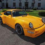 Porsche 964 tuning DP Motorsport – Sárga veszedelem