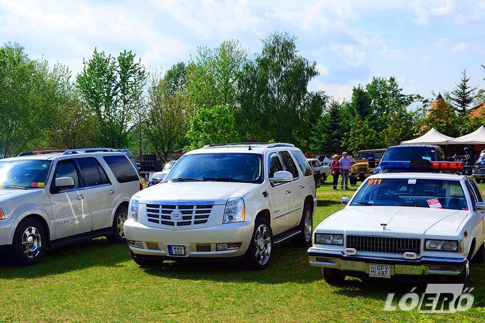 A repülők és a klasszikus nagyvasak mellett, a hagyományos amerikai autókból is többen képviseltetik majd magukat.