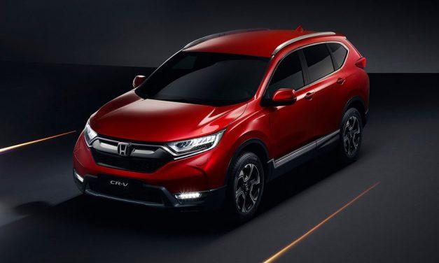 Honda CR-V 2018 – Megújul a Honda terepjáró