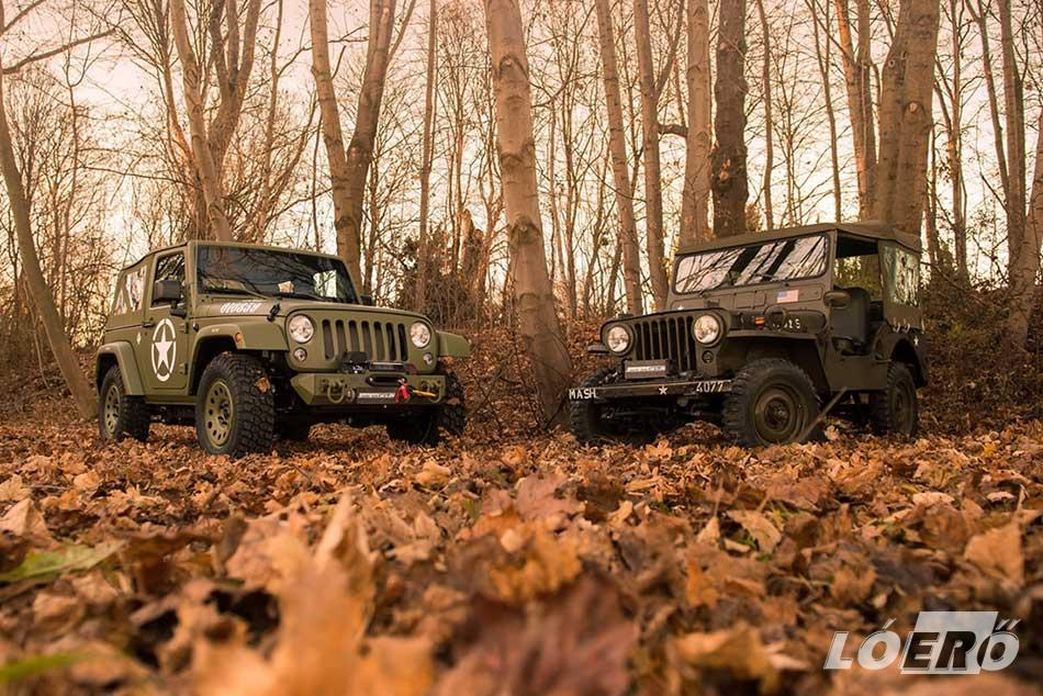 A Jeep Wrangler Willys-nek, hogy napjainkra ebben a formájában megszülethessen, hosszú utat kellett bejárnia.