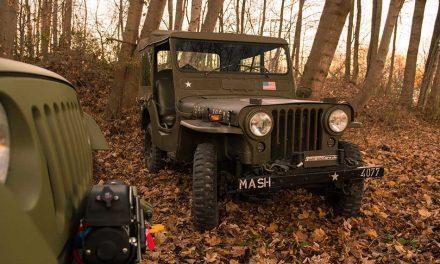 Jeep Wrangler Willys – Hadianyag a GeigerCars műhelyéből