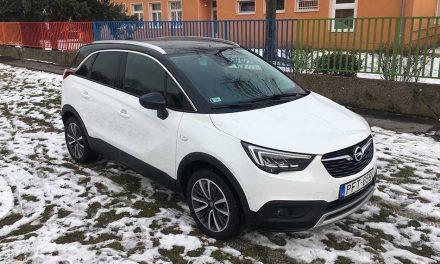 Az első franciás német – Opel Crossland X teszt-1.6 CDTi Innovation