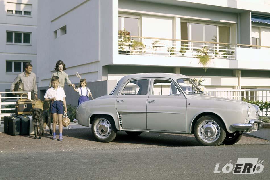 A Renault Dauphine igazi, olcsó, farmotoros francia népautó, amelyről kevésbé köztudott, hogy éveken át Alfa Romeóként is létezett.