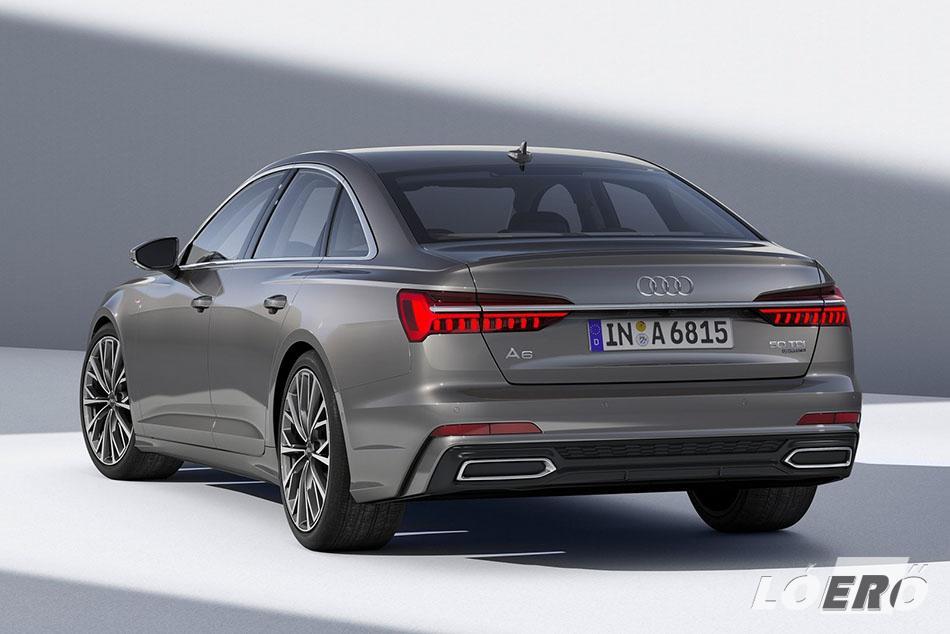 Európai bevezetésekor az új Audi A6 két egyaránt erőteljes motorral jelenik meg. A 340 lóerős V6-os 3.0 TFSI és a 286 lovas 3.0 TDI 5.8 lesz a palettában.