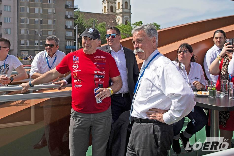 Immáron hagyomány, hogy az Opel Dakar Team versenyzői is részt vesznek a Nagy Futamon, így Szalay Balázsék az idén is ott voltak a motorsport ünnepén.