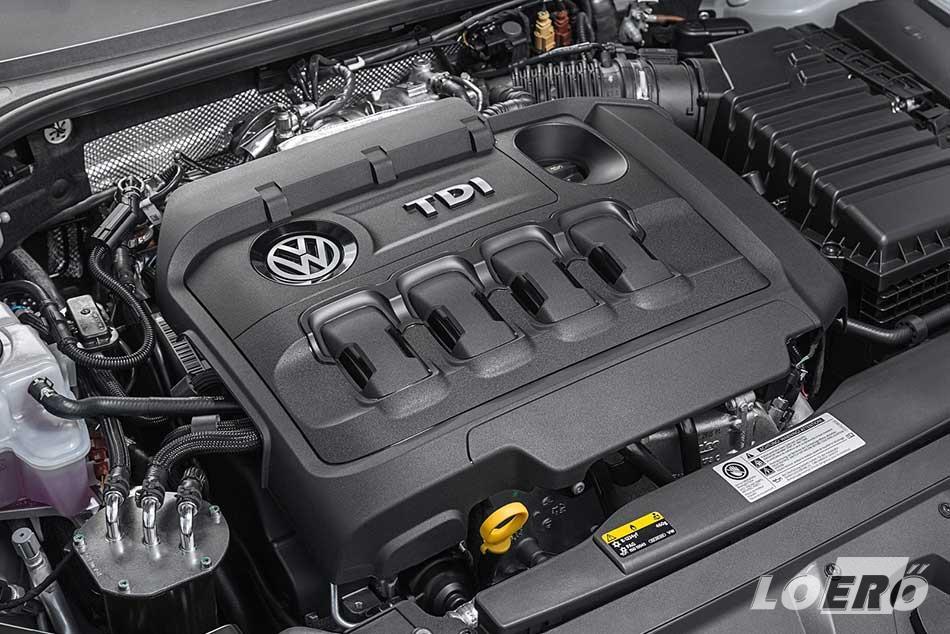 A Volkswagen Arteon teszt alatt kipróbált 150 lovas TDI tökéletesen passzol ehhez az autóhoz. Erős, lendületes, de a papírforma szerinti a 4,5 literes fogyasztást éppen ezért nem is sikerült hoznunk.