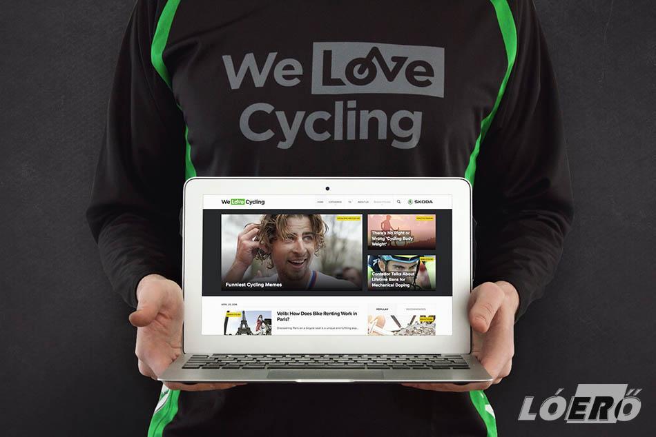 Napjainkban a Skoda a kerékpársport egyik legnagyobb támogatója, így a welovecycling.hu itthoni életre hívásával ismételten újabb feladatot vállalt ebben a szerepkörében.
