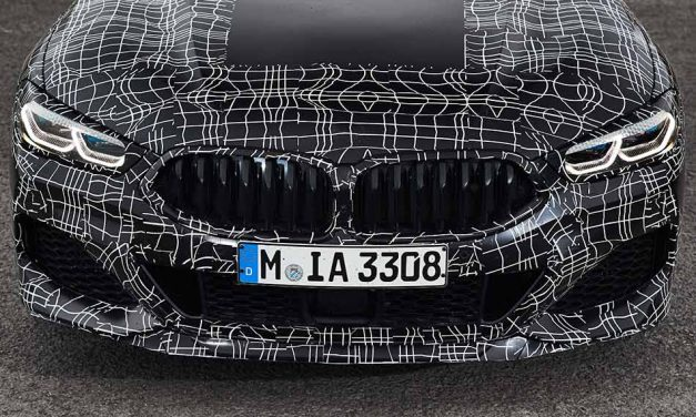 Sorozatgyártás előtt a 2018-as BMW 8 Coupé
