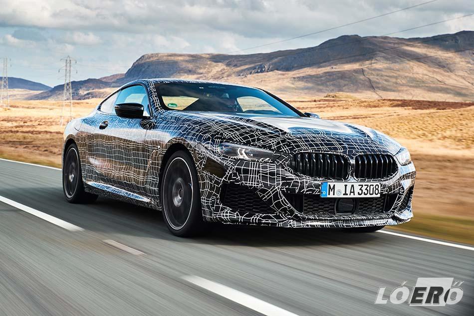 Az elődmodellhez képest 68 lóerővel megnövekedett maximális teljesítményével, a 2018-as BMW 8 Coupé akár már 530 lóerő, és 750 Nm forgatónyomaték leadására is képes lesz.