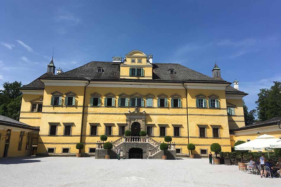 A Hellbrunni kastély
