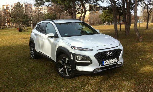 Hyundai Kona 1.0 T-GDi teszt – A legvagányabb koreai