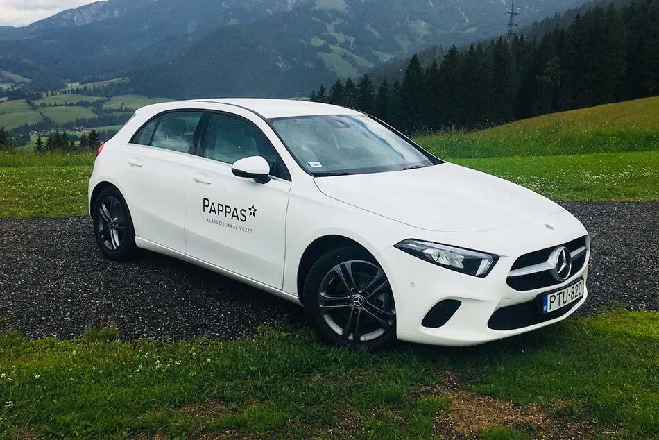 Kipróbáltuk hazánk új büszkeségét - új Mercedes-Benz A-osztály