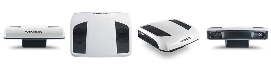 A Dometic kisebb teljesítményű RTX1000 típusú inverteres állóklíma berendezése is állva hagyta a konkurenciát.