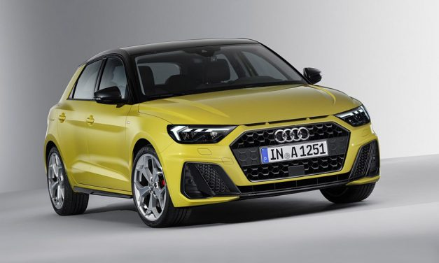 Jön az új Audi A1 Sportback