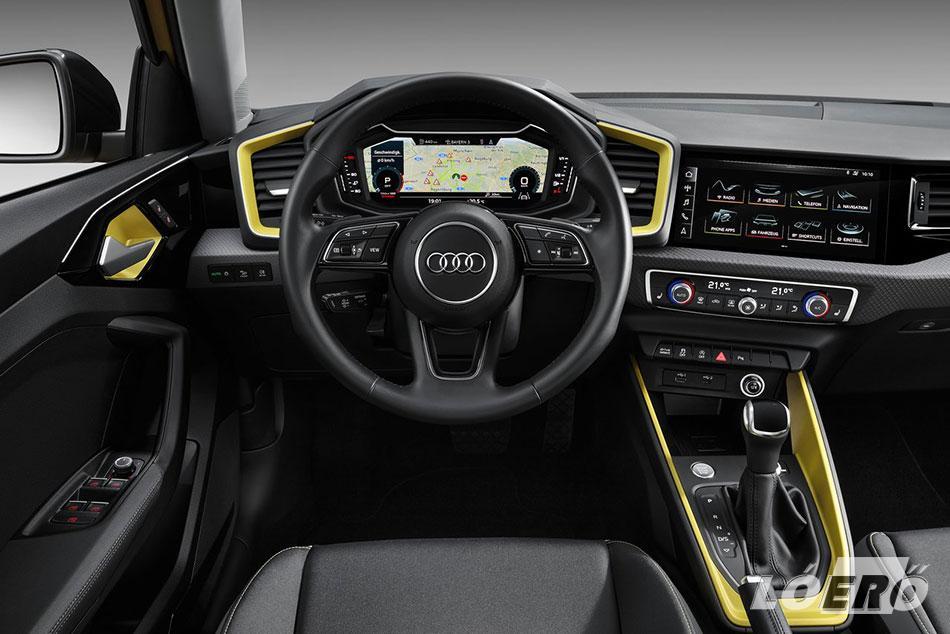 Az új Audi A1 Sportback a felsőkategória színvonalát idéző fejlett infotainment- és vezetői segédrendszereivel valószínűleg továbbra is élen járó lesz a kategóriájában.