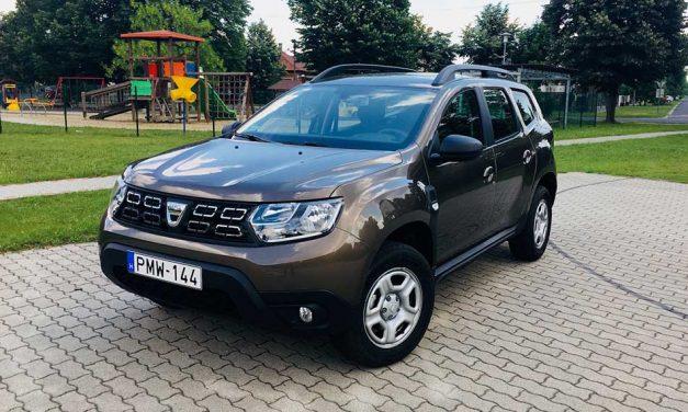 A forma és a jó ár a régi – Dacia Duster teszt – 1.5 dCi Comfort