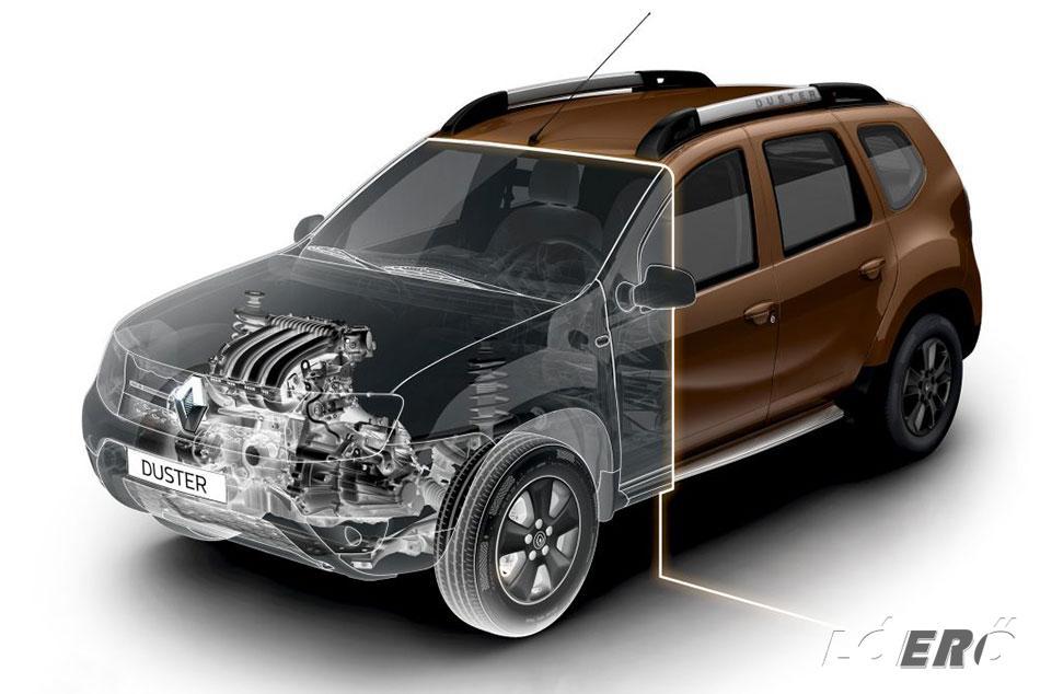 A Dacia Duster 1.5 dCi motorja maradt a jól bevált és valóban remek régebbi fejlesztés, melynek fogyasztása vegyes használatnál még az 5 litert sem érte el.