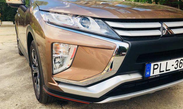 Mitsubishi Eclipse Cross 1.5 T Elegance teszt – A nevével operáltak
