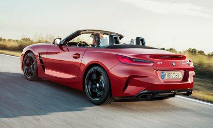 Megmutatta magát a BMW Z4 cabrio