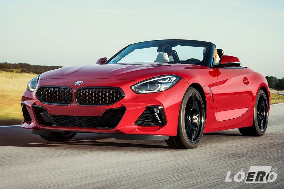 BMW Z4 cabrio limitált kiadása már első pillantásra tudatja velünk, hogy nem átlagos technikáról van szó.