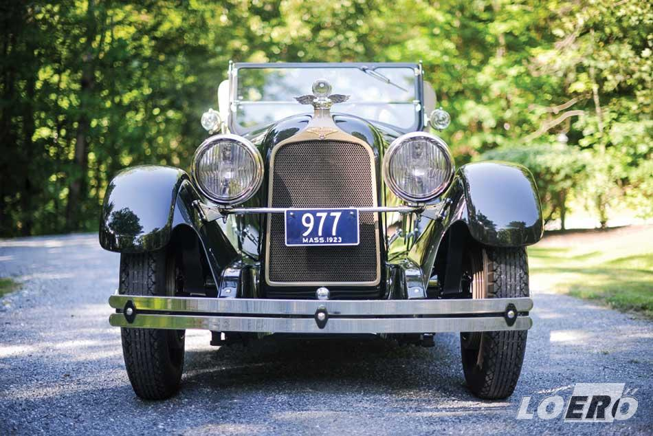 Az 1923-as Duesenberg A Sport Phaeton változata talán az egyik legjobban eltalált modell volt a márka történetében.