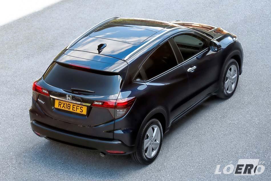 A Honda HR-V 2019-es első példányait októbertől érhetjük el a márkakereskedésekben.