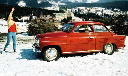 A régi Skoda Octavia 1959