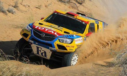Turkmen Desert Race – Szalayék a hatodik helyen!