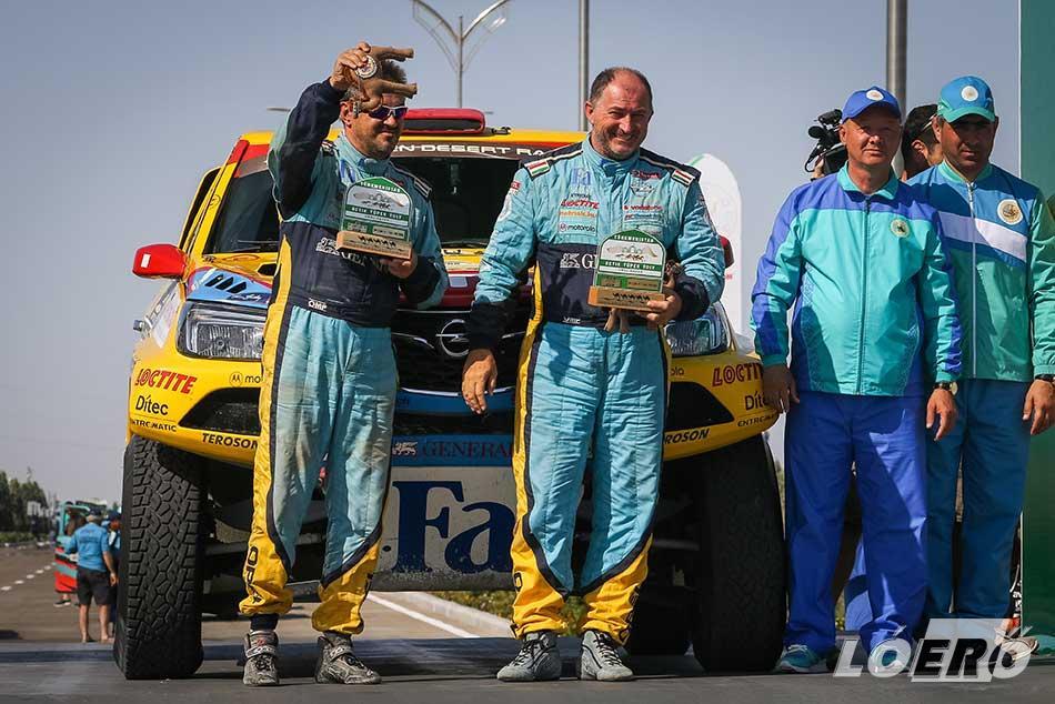 Remekül sikerült Balázséknak a Turkmen Desert Race, a teljesen ismeretlen terepen a hatodik helyet sikerült megszerezniük.
