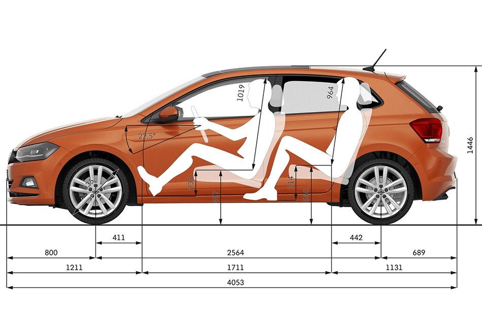 Az új VW Polo méretek ismét tovább nőttek, és ma már a kiscsaládosoknak is egy ideális választás lehet az autó.