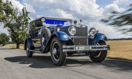 Skoda 860 Cabriolet 1932 – Egyszerűen csak gyönyörű