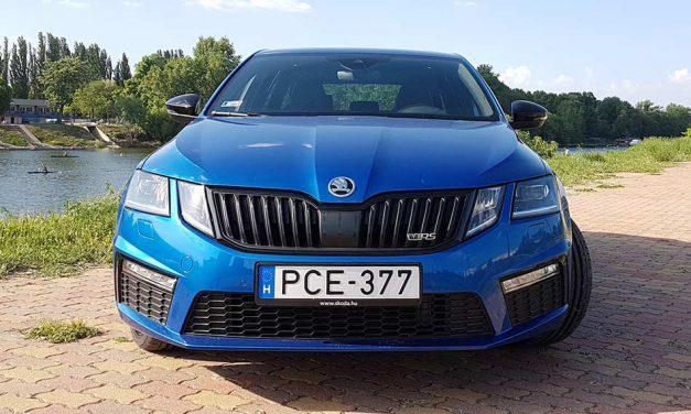 Skoda Octavia RS Combi teszt – Csak az a fránya ára
