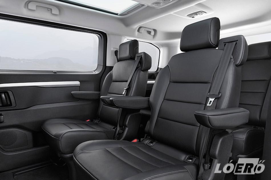 Természetesen opcionálisan, de a megújult Zafira utastér szintén számos kényelmi, és a minőségérzetünket tovább növelő lehetőséget biztosít.