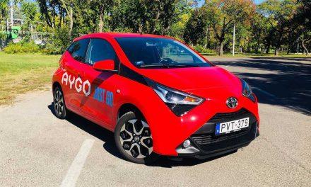 Toyota Aygo 1.0 – Színes, de drága egyéniség