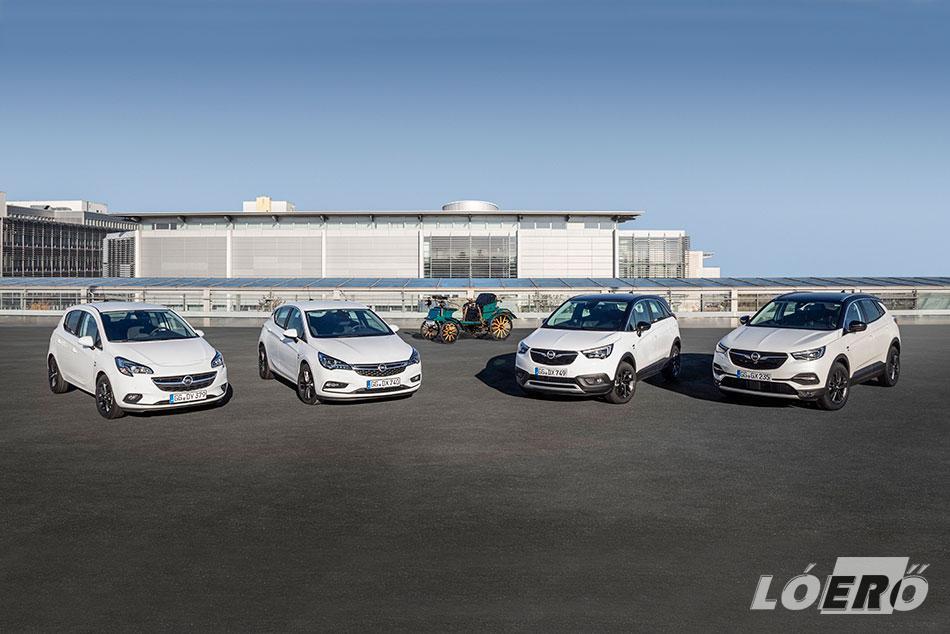 Az idei évben az Opel modellek választéka mind a személyautók, mind a haszongépjárművek szegmensében sok újdonsággal fog gyarapodni.