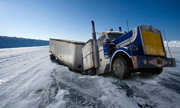 Különleges utak – Denison's Ice Road