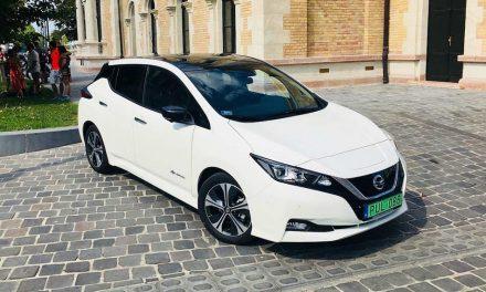 Még nagyobb hatótáv – Nissan Leaf 40 kWh teszt