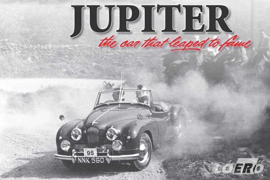 A Jowett Jupiter kis mérete ellenére egészen komoly hírnevet szerzett a korabeli versenyeken. Ahogy azt a hirdetés is tudatja velünk: Az autó, ami híressé vált…