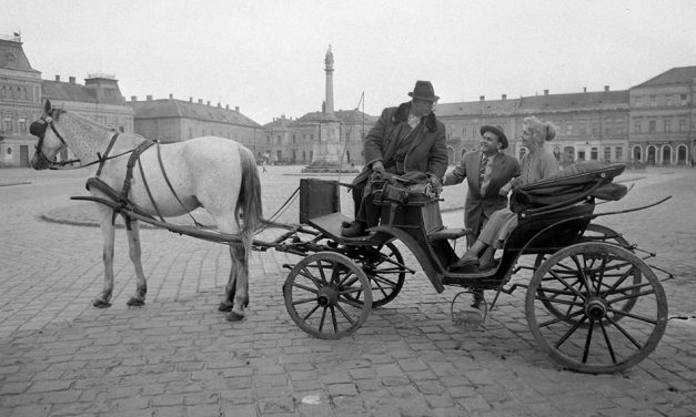 A konflis és a fiáker, mert a taxik előtt is volt élet
