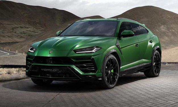 SUV fertőzés, támad a Lamborghini Urus