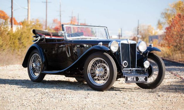 MG T Series – A kisöreg MG cabrio