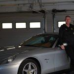 Magyar műsorvezető Ferrari reklámban