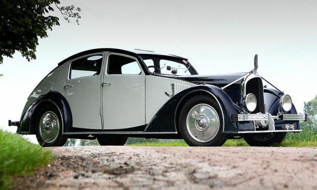 Voisin C25 Aérodyne 1934 – Már művészet