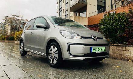 Volkswagen e-Up – Elektromos autó városlakóknak
